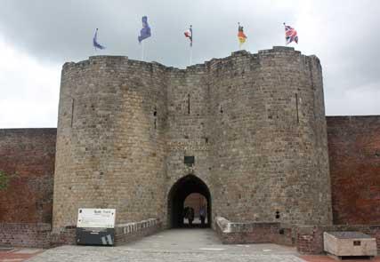 Eingang zum Historial von Peronne