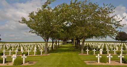 Der französische Friedhof von Rancourt